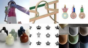 Top left corner clockwise: Works by Monstrum, Akiko Kuwahata & Ken Winther, Annette Dam, Cecilie Manz, Kontrapunkt, Tora Urup.