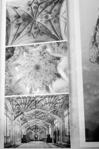 Gotiske hvælvinger og arabisk ornamentik har været inspirationskilder til programmeringen af algoritmen. Foto: Kirstine Autzen