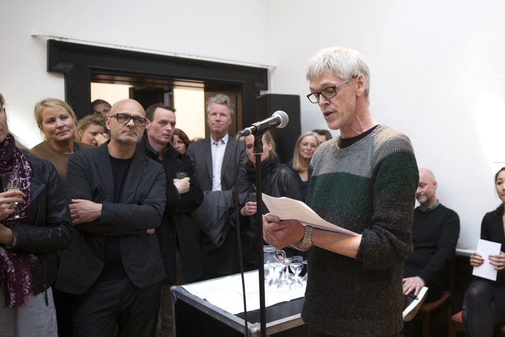 designer Ole Jensen. Fotograf Frederikke Heiberg. Åbning af Biennalen 2017